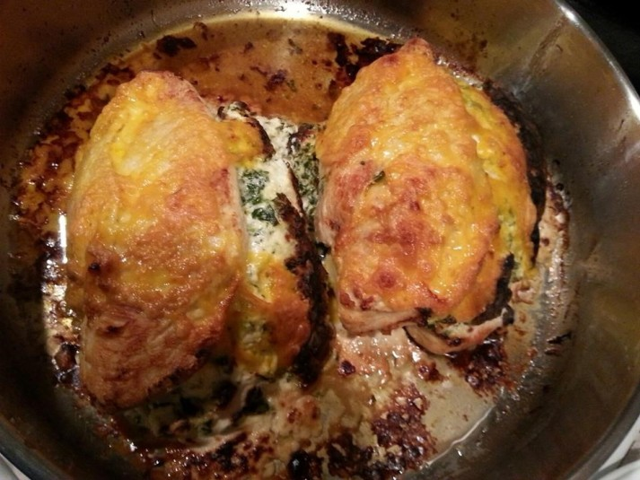 stuffed chicken breasat